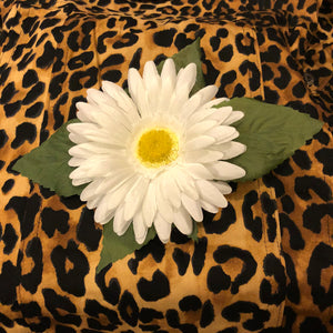 Handmade Hair Flower-Medium White Daisy