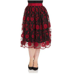 Rosalie - Floral Swing Skirt