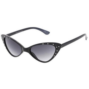 Small Rhinestone Cateye Sunglasses