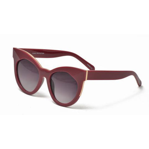 Large Cateye Color Sunglasses