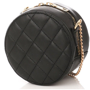 Round Cushion Crossbody Bag