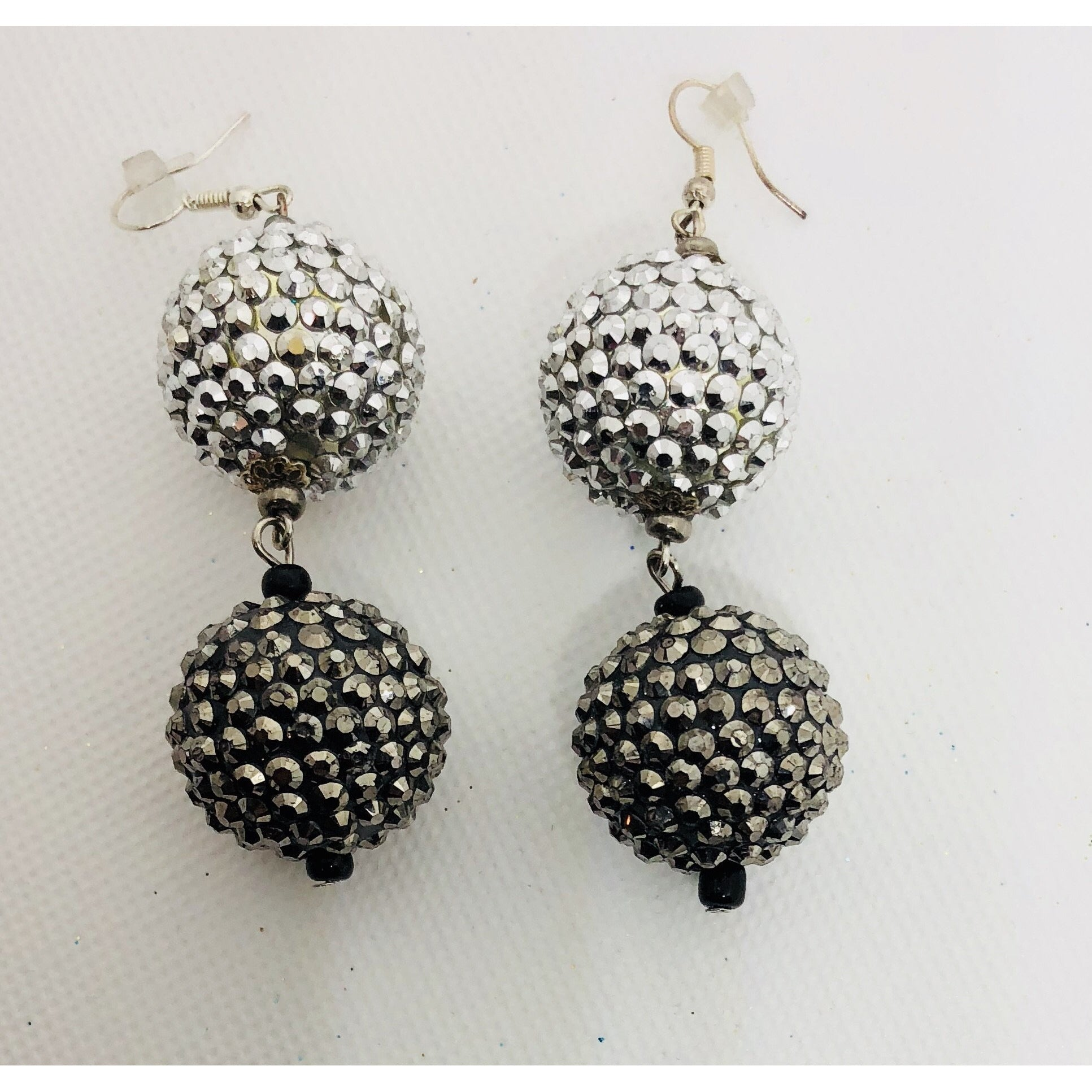 Sparkly and festive earrings
