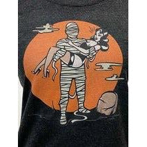 The Mummy's Curse T-shirt in Vintage Black