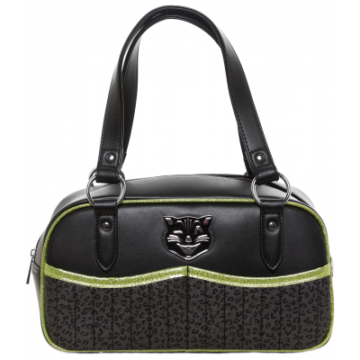 JINX TESSA PURSE BLACK/GREEN