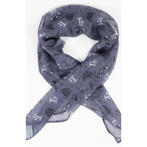 Grease T Birds Print Hair Scarf