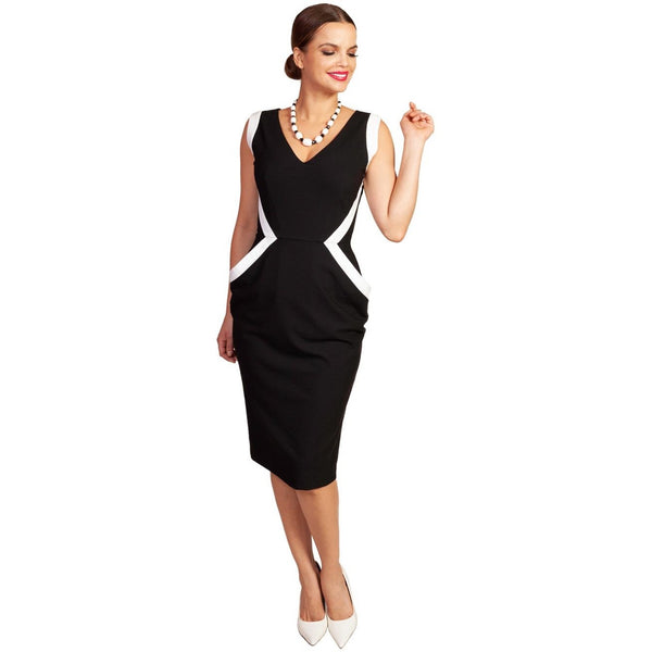 Grace & Glam Nocturne Sleeveless Dress