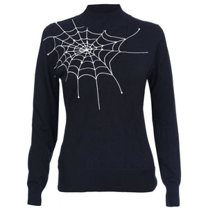 VV X Acid Doll Black Widow Sweater