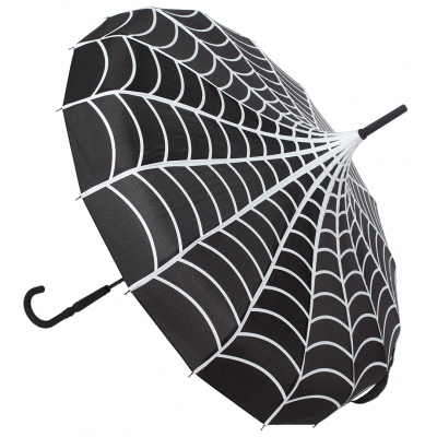 SOURPUSS SPIDERWEB PAGODA UMBRELLA