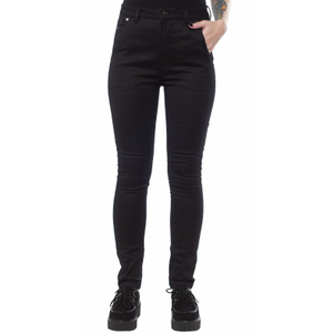 ESSENTIAL 5 POCKET STRETCH PANTS BLACK- M, 2X & 3X