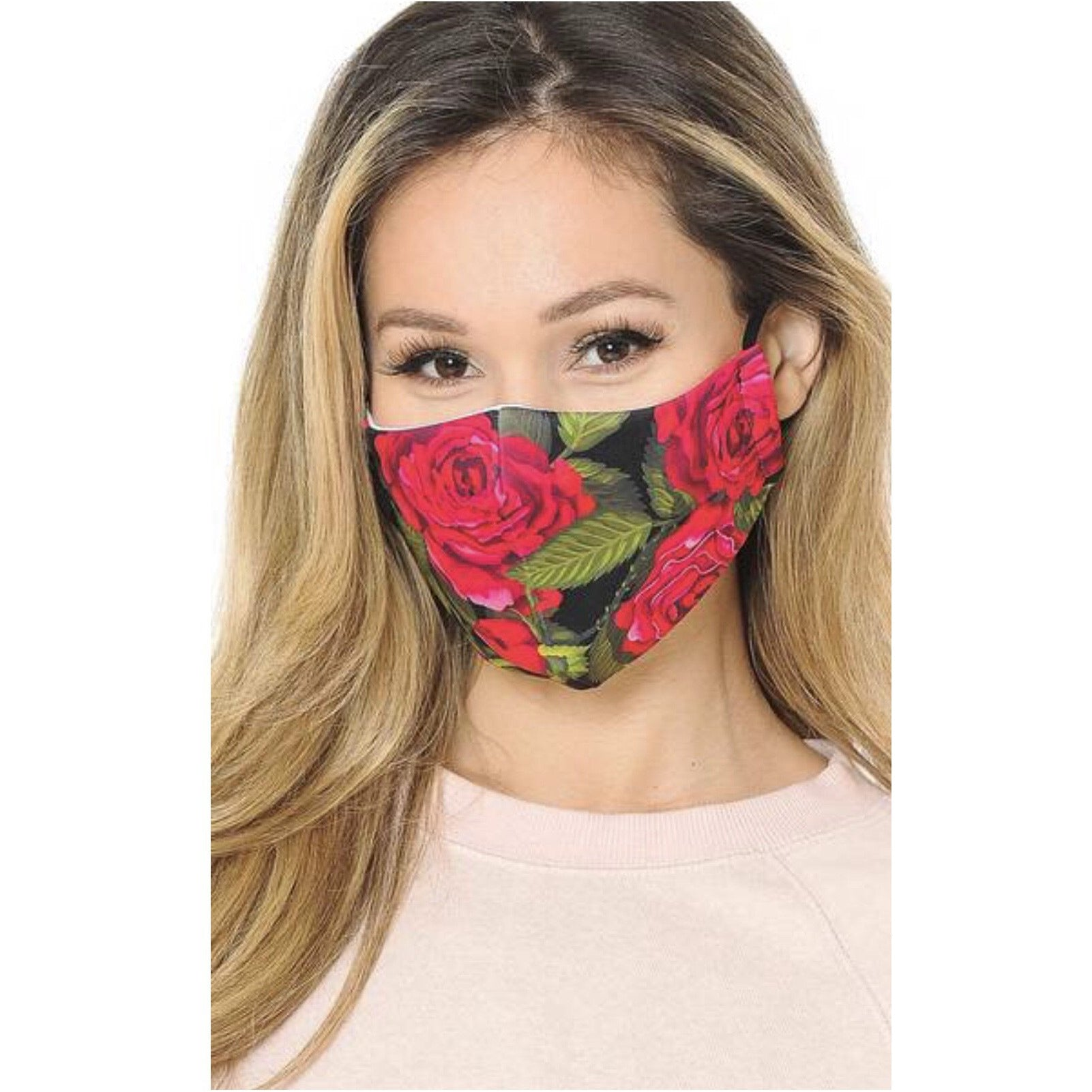 Red Rose Mask