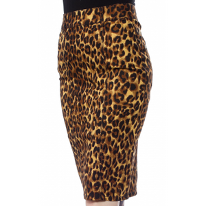 Perfect Leopard Pencil Skirt