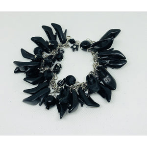 Barbie inspired High heel Bracelet-Black