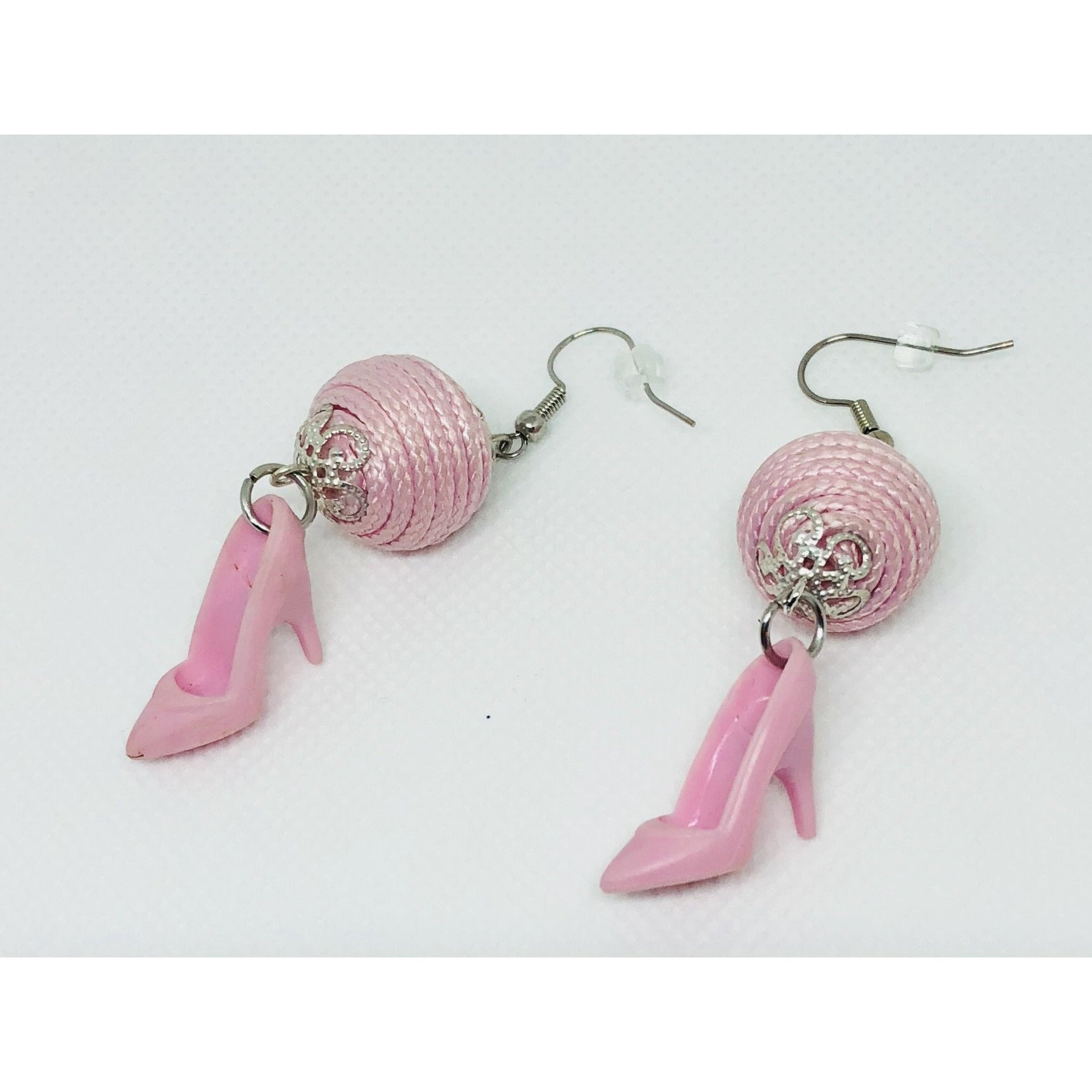 Barbie Inspired high heel earrings