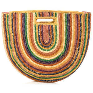 Rainbow Striped Bag