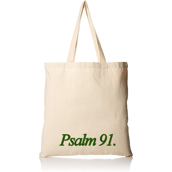 PSALM 91 Tote Bag
