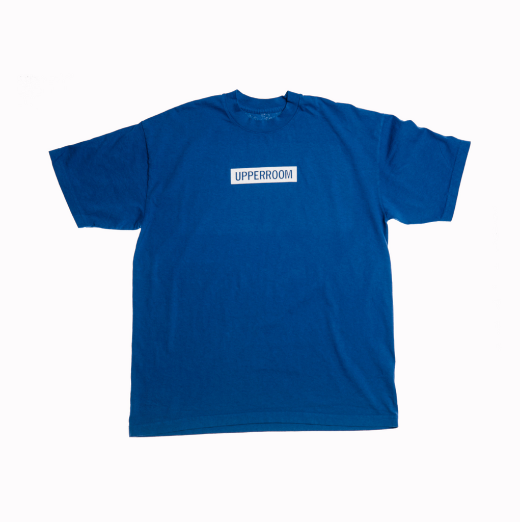 Box Logo Blue T-Shirt