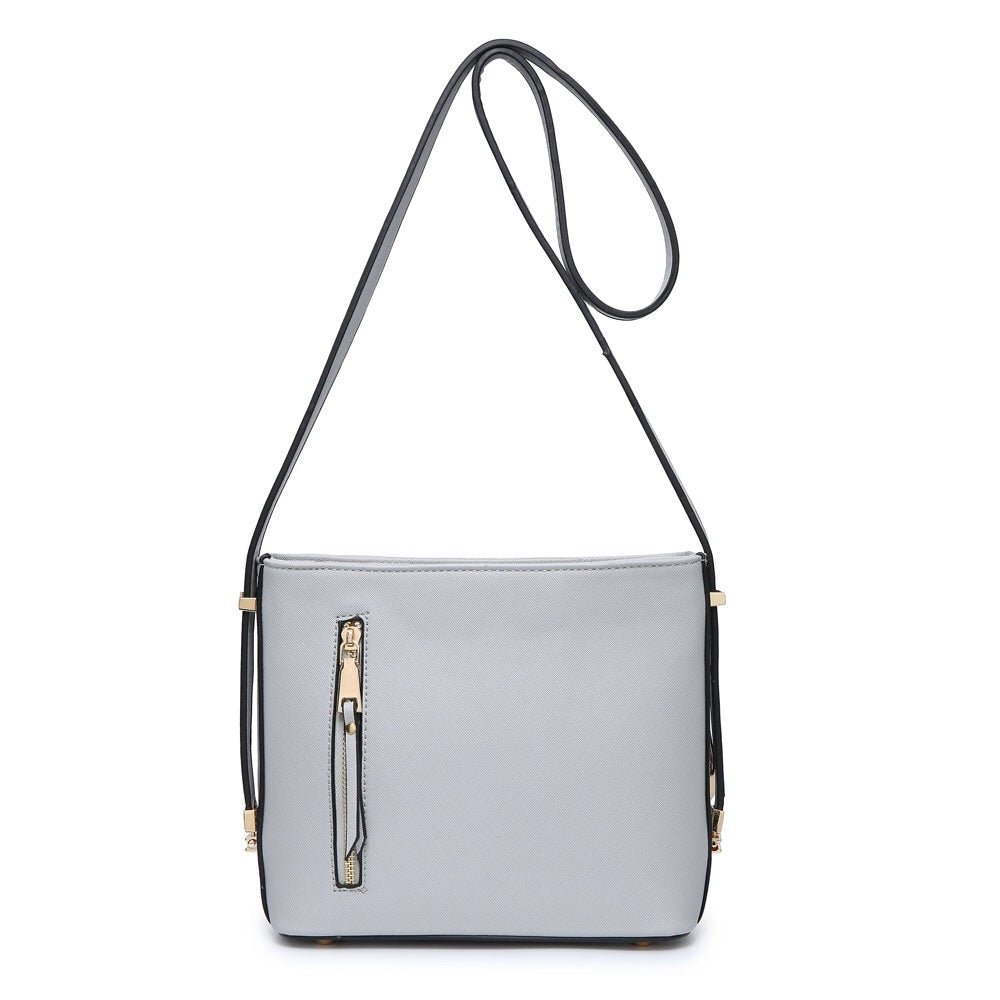 Grey Over The Shoulder Handbag