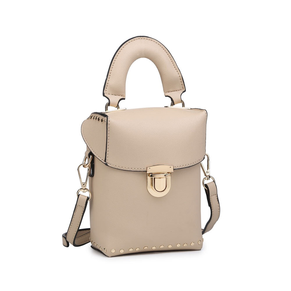Beige Pouch Bag