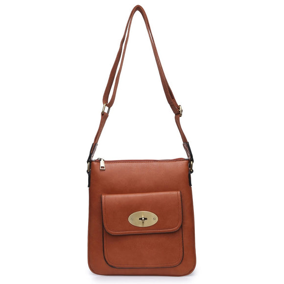 Brown Over The Shoulder Handbag