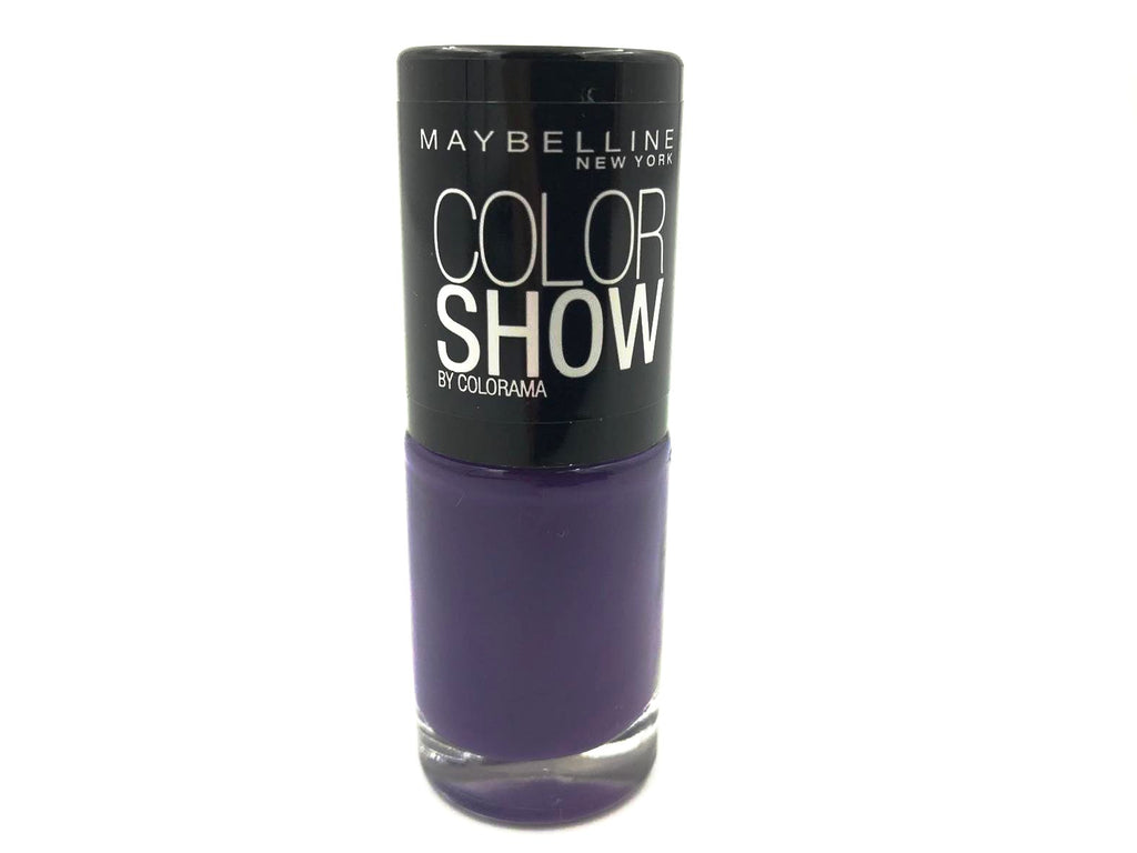 Matte Deep Purple Nail Varnish