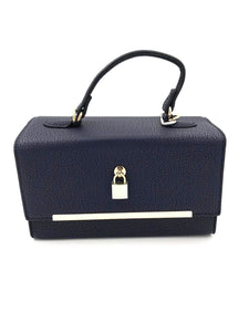 Navy Blue Over The Shoulder Bag