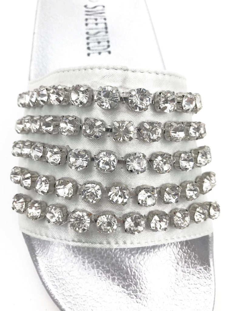 Silver Diamond Sliders