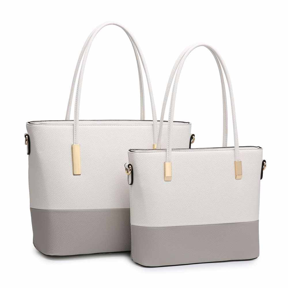 Large White Handbag
