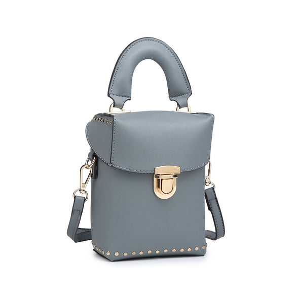 Light Blue Pouch Bag
