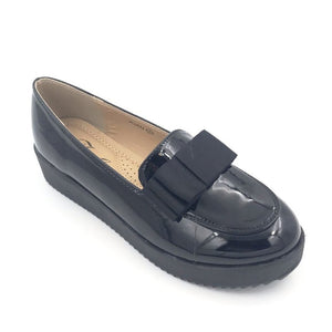 Black Bow Patent Shoes
