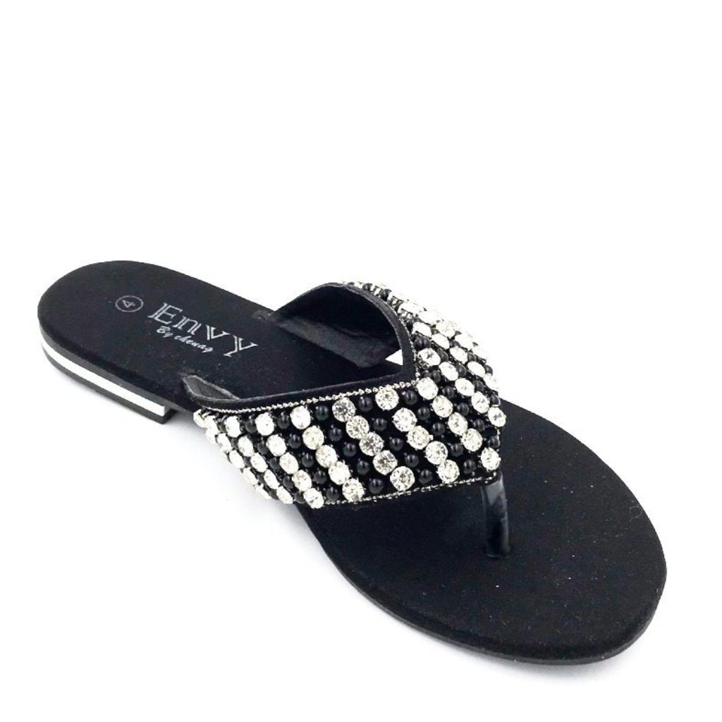 Black Diamond Flip Flops
