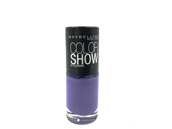 Maybelline Matte Purple Nail Varnish
