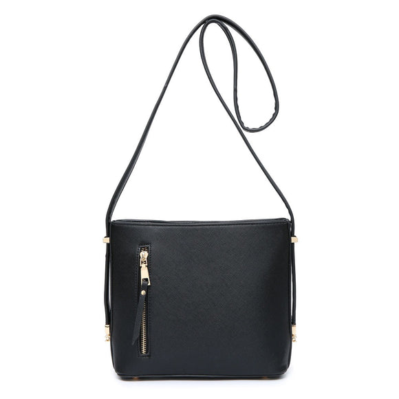 Black Over The Shoulder Handbag
