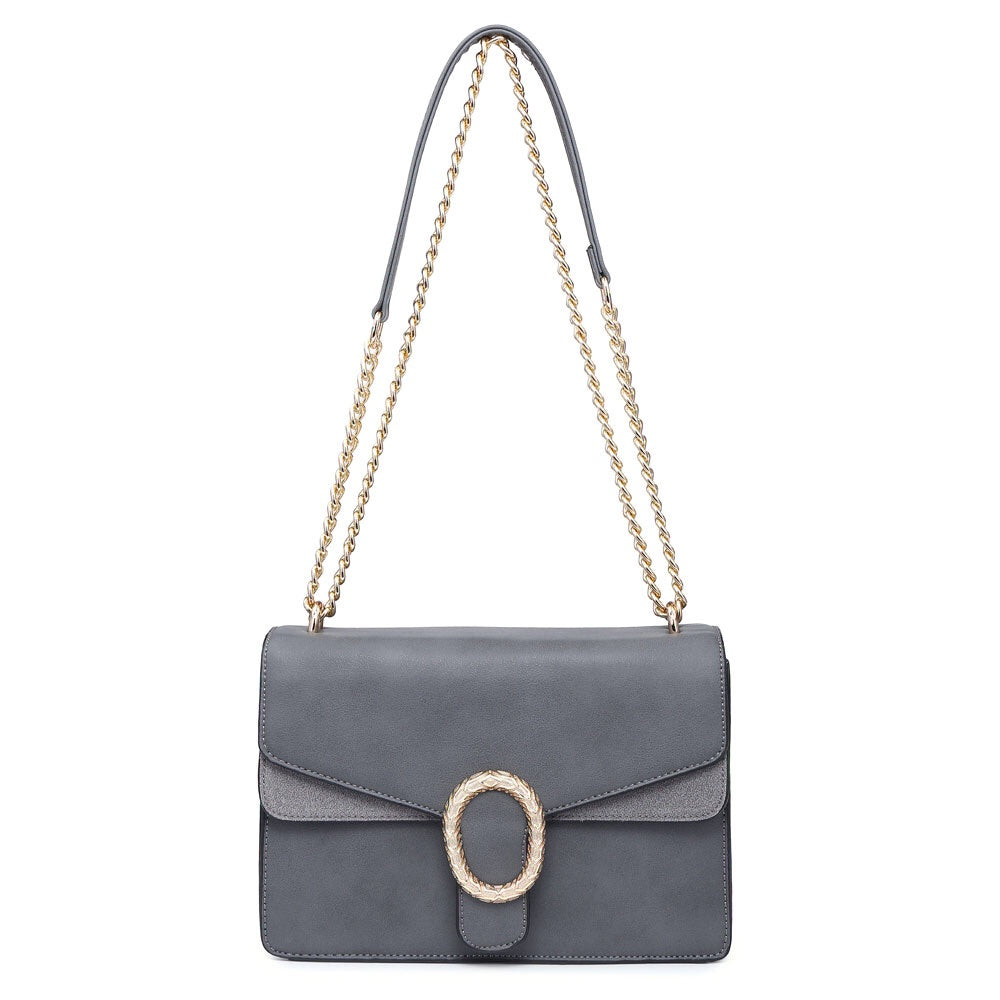 Grey Classy Over The Shoulder Bag