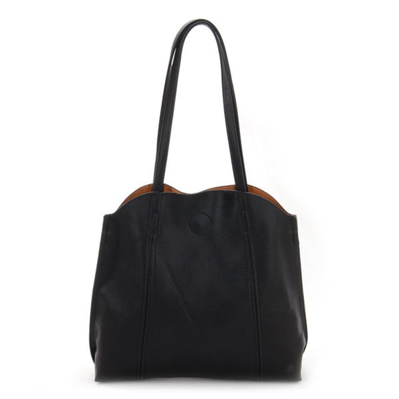 Black Casual Handbag