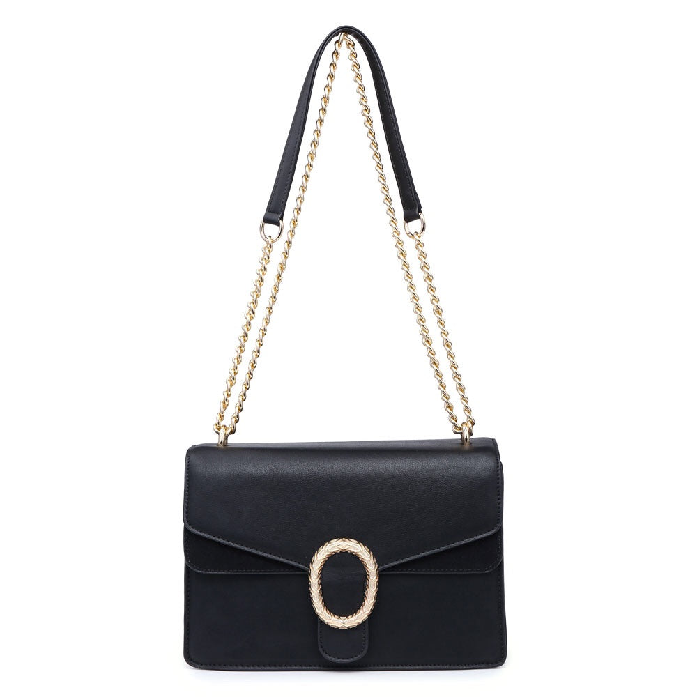 Navy Blue Classy Over The Shoulder Bag