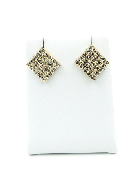 Gold Diamante Earrings