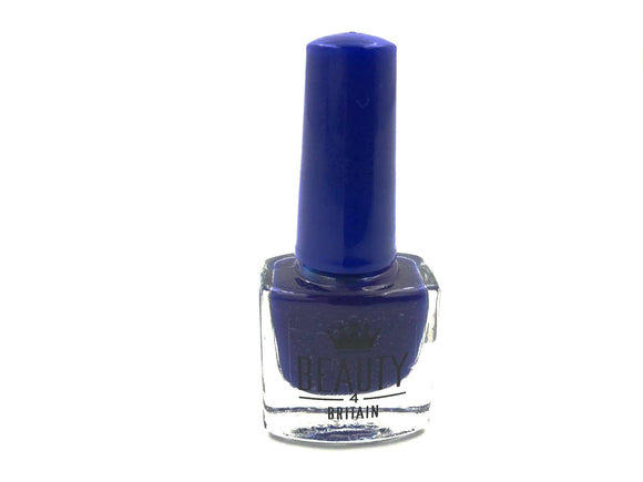 Navy Blue Nail Varnish