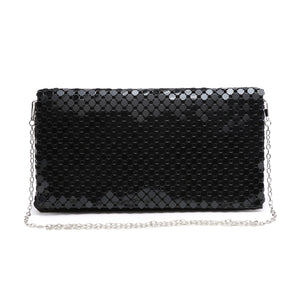 Black Party Clutch Bag