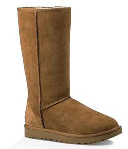 Chestnut Fur Ugg Style Tall Boots