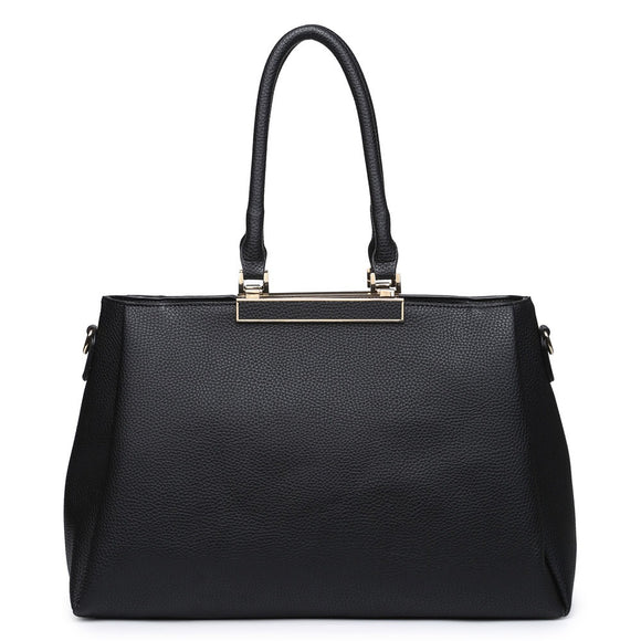 Black Gold Rim Handbag
