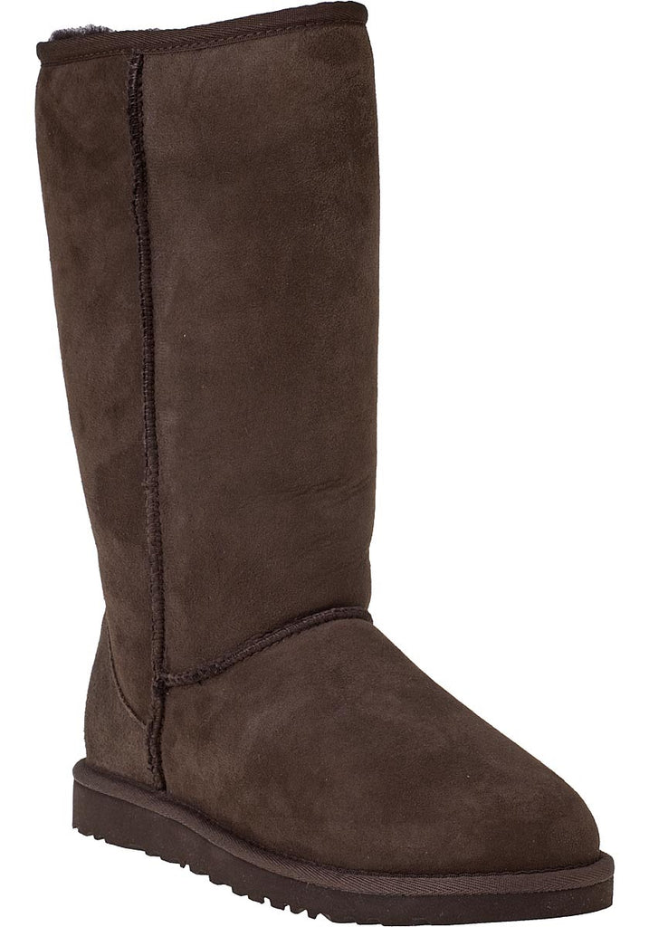 Brown Fur Ugg Style Tall Boots