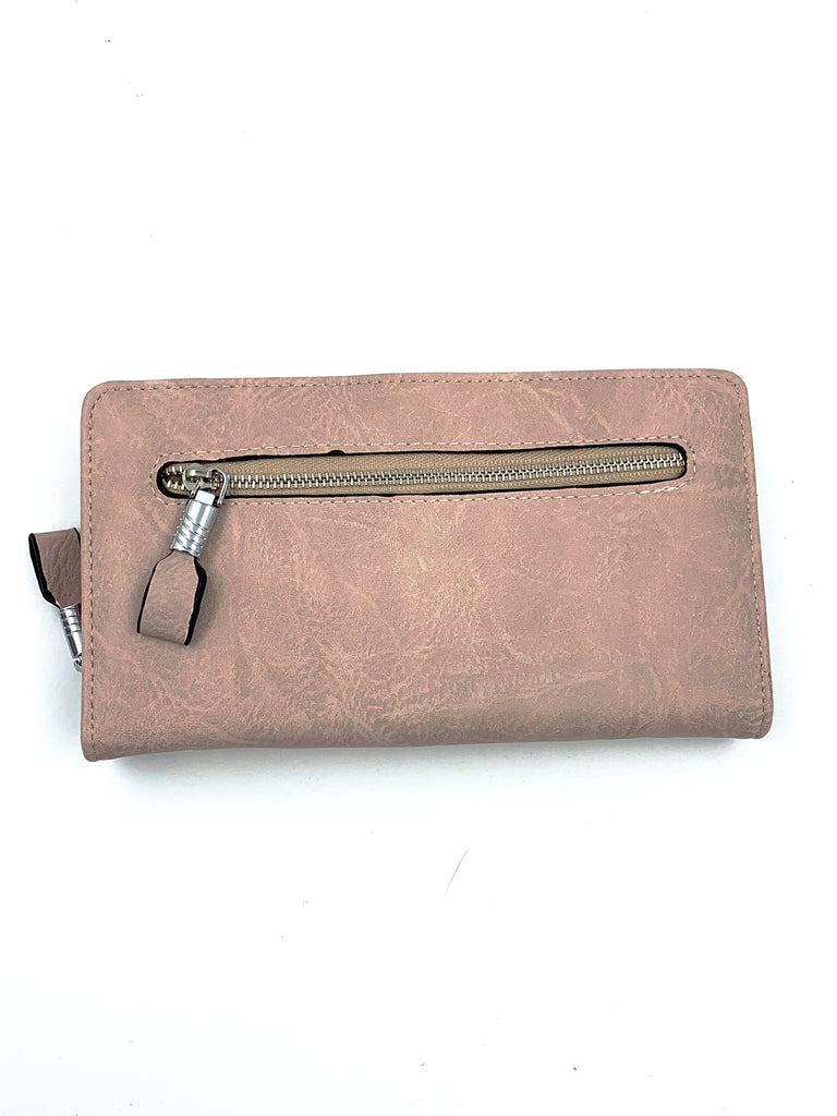 Baby Pink leather Purse