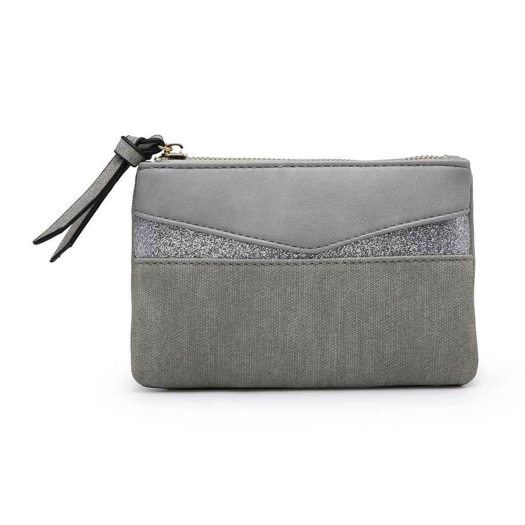Grey Pocket Purse