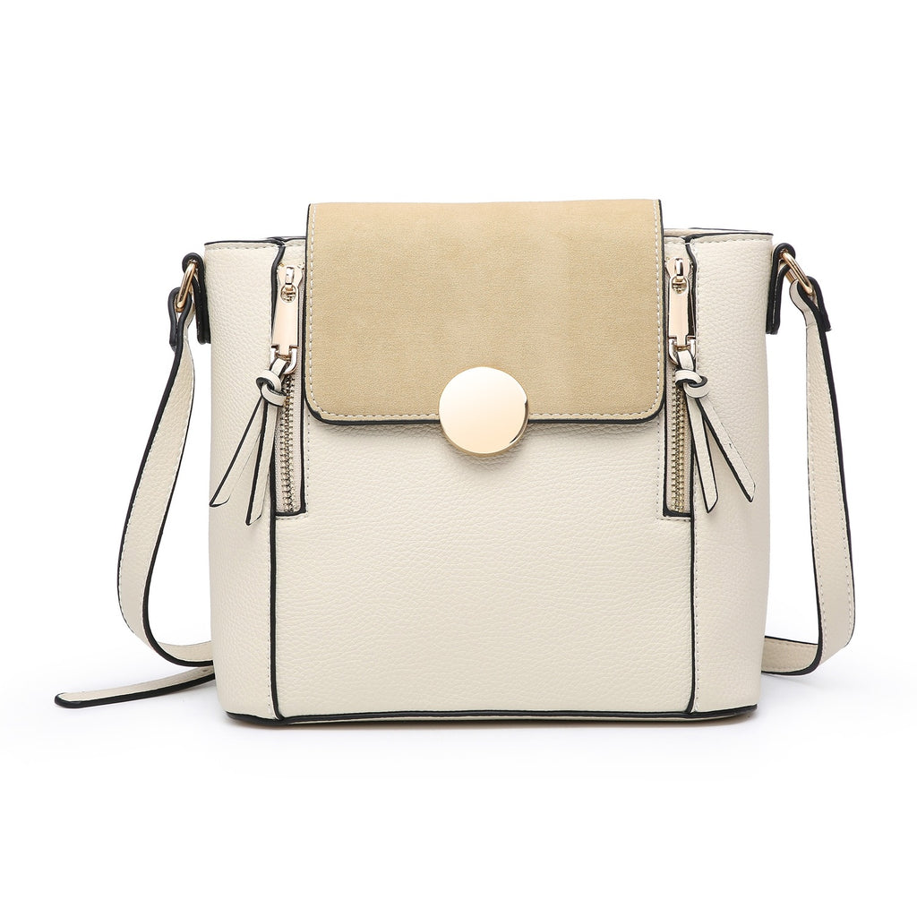 Cream Over The Shoulder Handbag