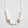 teething necklace, baby shower gift, new mum