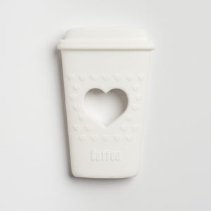 Silicone Teether - Coffee Cup