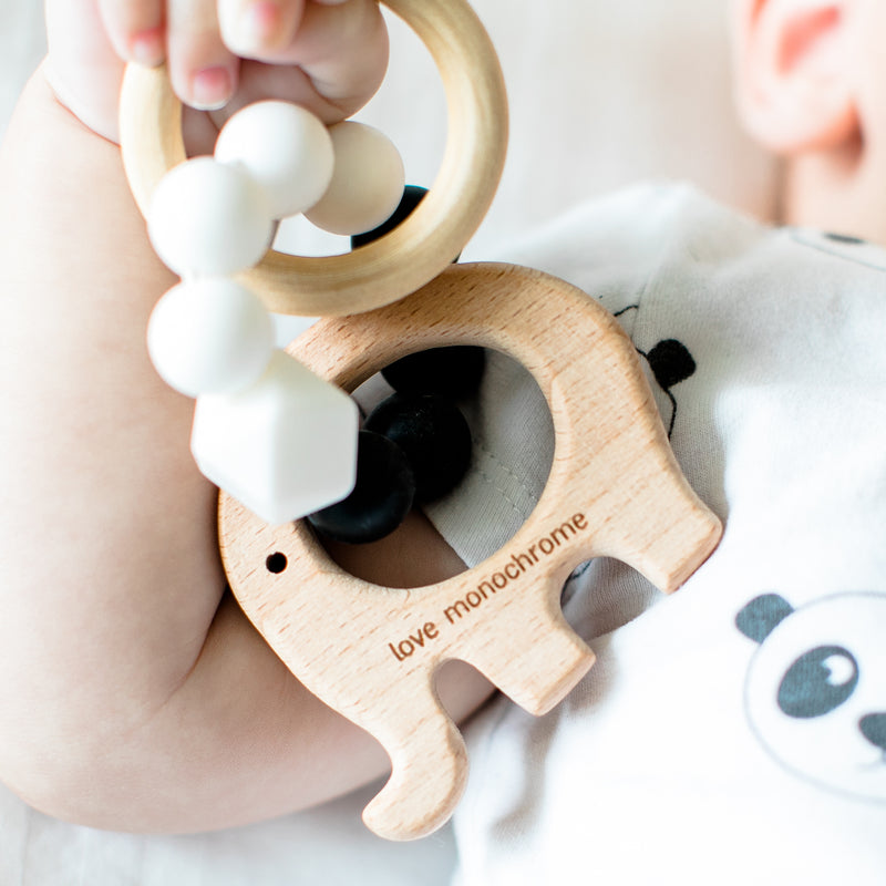 Elephant Wooden Teether