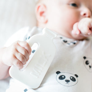 Silicone Teether - Milk Bottle