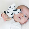 Bunny Ears Teether - Cow Print