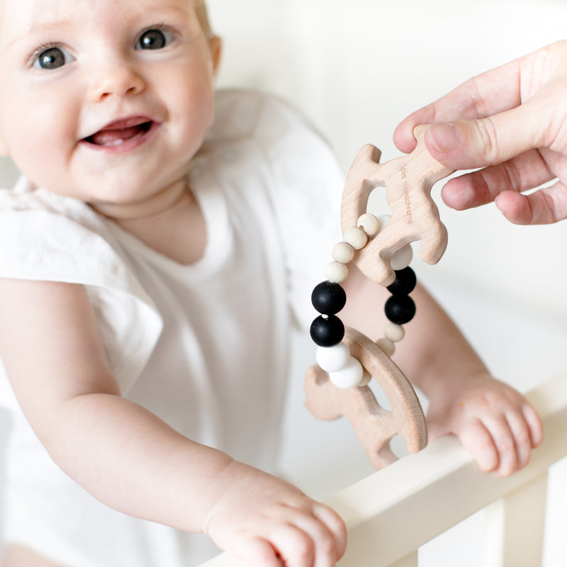Rocking Horse Wooden Teether